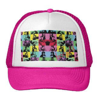 Hoopla college trucker hat