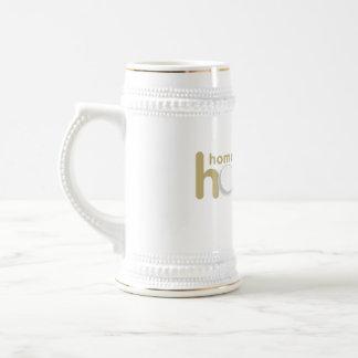 Hoopla Gold Stein Mug