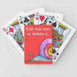 Hoopla Snail Deck of Cards