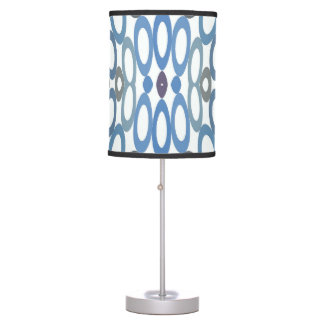 Hoopla Table Lamp Cool Blue