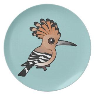 Hoopoe de Birdorable Platos Para Fiestas