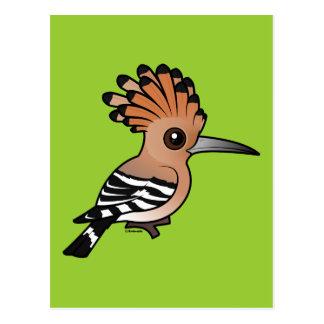Hoopoe de Birdorable Tarjetas Postales