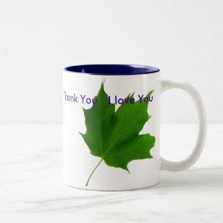 Ho'oponopono  Maple Leaf Mug