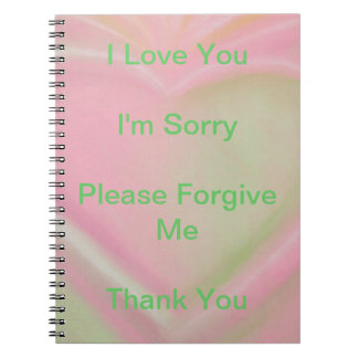 Ho'oponopono Notebook