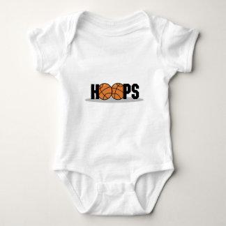 hoops basketball design baby bodysuit