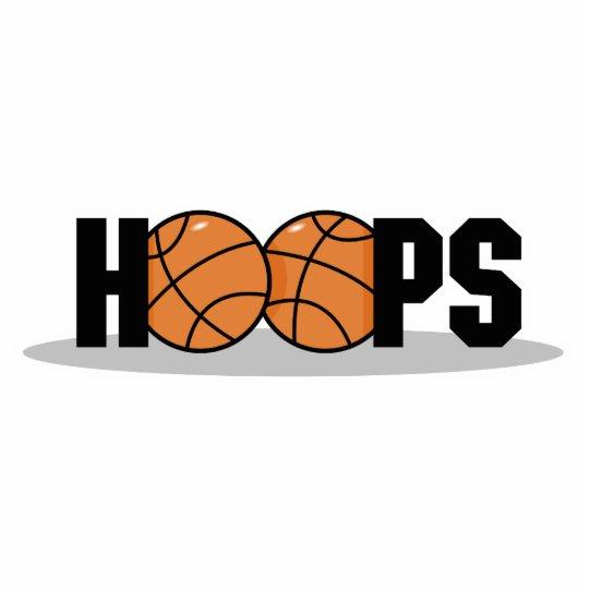hoops basketball design statuette