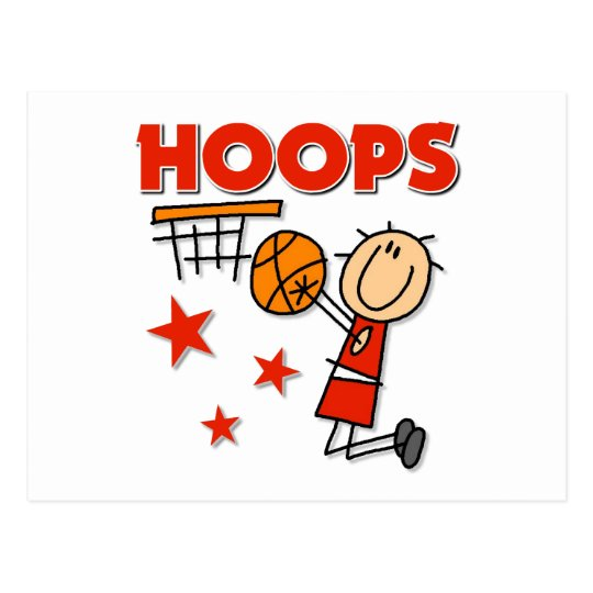 Hoops Basketball Gift Postcard