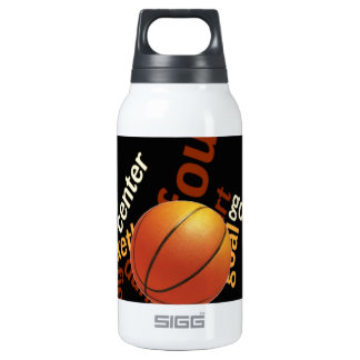 Hoops Basketball Sport Fanatics.jpg 10 Oz Insulated SIGG Thermos Water Bottle