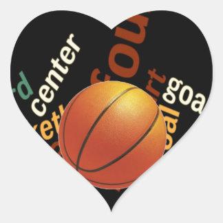 Hoops Basketball Sport Fanatics.jpg Heart Sticker