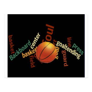Hoops Basketball Sport Fanatics.jpg Postcard