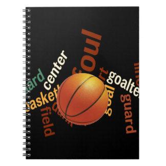 Hoops Basketball Sport Fanatics.jpg Spiral Notebook