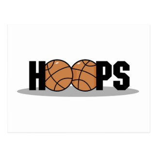 Hoops Basketball T-shirts and Gifts Postcard