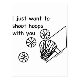 Hoops Postcard