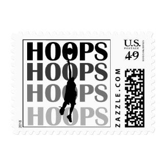 Hoops Silhouette T-shirts and Gifts Stamp