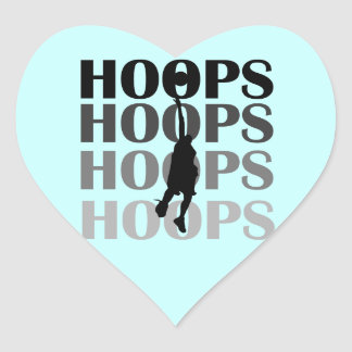 Hoops Silhouette T-shirts and Gifts Sticker