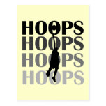 Hoops Silhouette Tshirts and Gifts Postcard