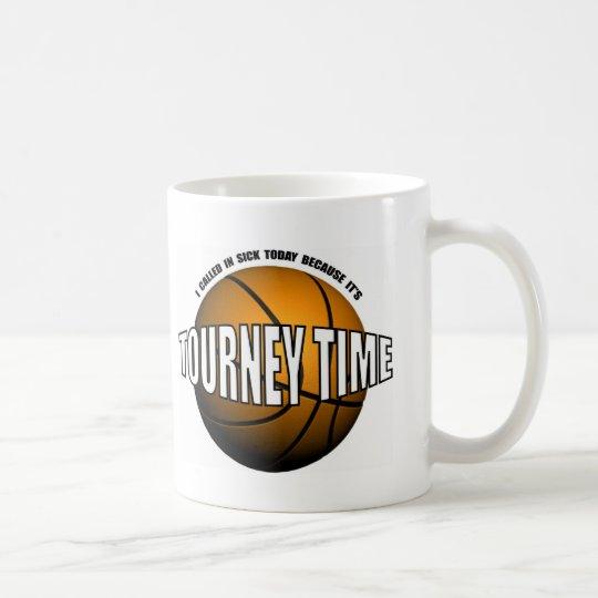 HOOPS-TOURNEY TIME COFFEE MUG