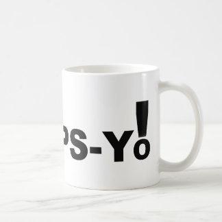 Hoops-Yo Coffee Mug