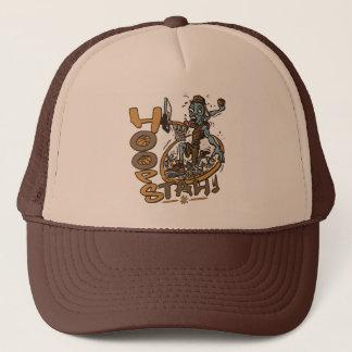 Hoopstah #0 by Mudge Studios Trucker Hat