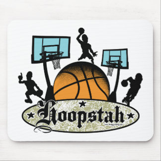 Hoopstah Color Logo Gear for Ballers Mouse Pad