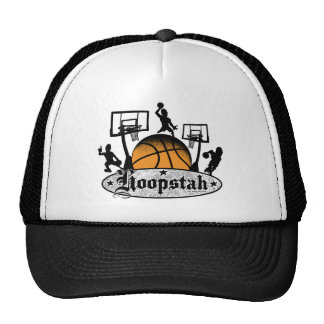Hoopstah Logo Gear for Ballers and Hoopsters Hats