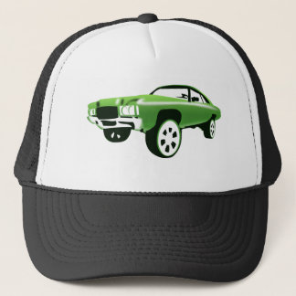 Hoopty G-ride and caddy cadillac rims Trucker Hat