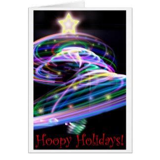 Hoopy Holidays Card