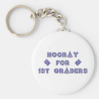 Hooray for 1st Graders Key Chains
