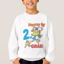 Hooray for 2nd Grade Sweatshirt