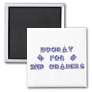 Hooray for 2nd Graders Magnet