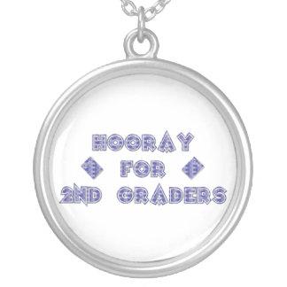 Hooray for 2nd Graders Pendant