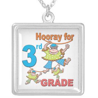 Hooray for 3rd Grade Pendants