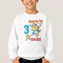 Hooray for 3rd Grade Sweatshirt