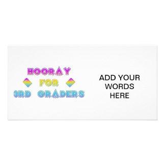 Hooray for 3rd Graders Card