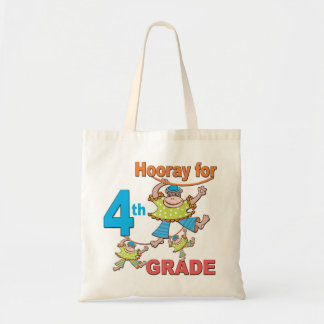 Hooray for 4th Grade Tote Bags