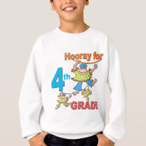 Hooray for 4th Grade Sweatshirt