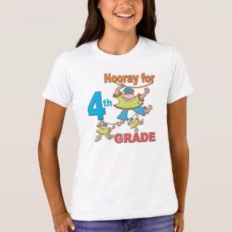 Hooray for 4th Grade T-Shirt