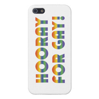 Hooray For Gay iPhone 5 Case
