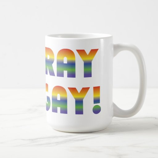 Hooray For Gay Mug