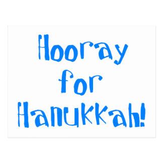 Hooray for Hanukkah Postcard