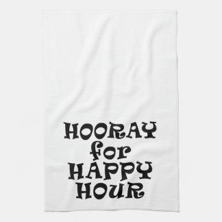 HOORAY FOR HAPPY HOUR TOWEL