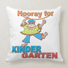 Kindergarten Pillow