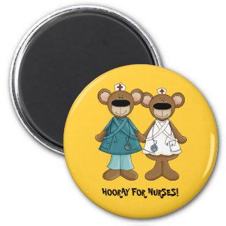 Hooray for Nurses! Gift Magnets