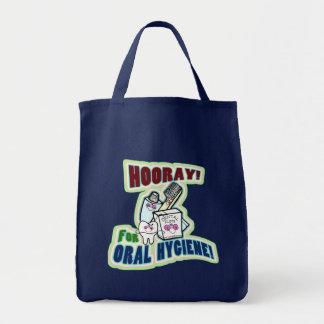 Hooray For Oral Hygiene! Tote Bag