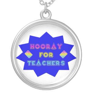 Hooray for teachers! pendants