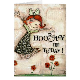 Hooray for Today - Birthday Card