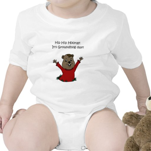 hooray its Groundhog day t-shirt
