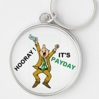 HOORAY ! IT'S PAYDAY KEYCHAIN