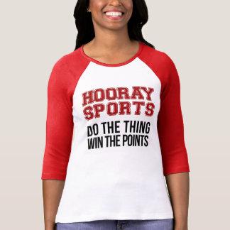 Hooray los deportes hacen el triunfo de la cosa playeras