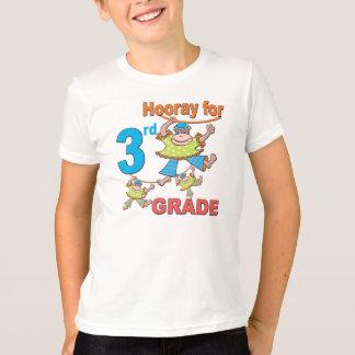 Hooray para el 3ro grado playera